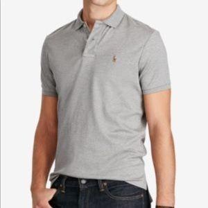 Men's Large Pima Cotton polo shirt
